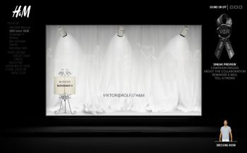 H&M Viktor & Rolf teaser site 1