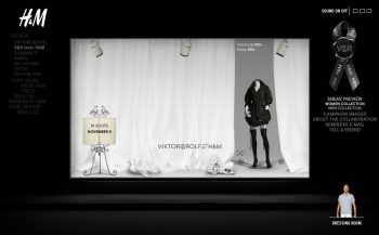 H&M Viktor & Rolf teaser site 2