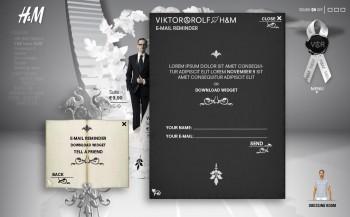 H&M Viktor & Rolf form